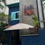 Fachada do Sofá Café