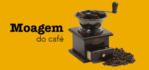 Moagem do café gourmet