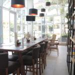 Interior do Sterna Cafe da Barra Funda, em São Paulo