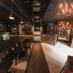 Detalhe do interior da cafeteria Toque de Café. Foto: Marcelo Araújo